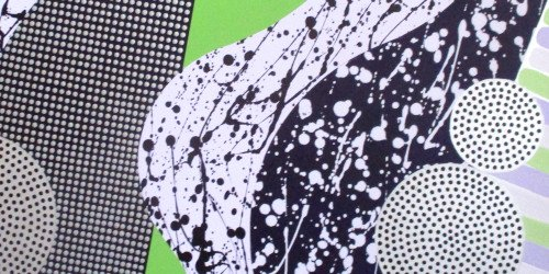 Graphic - Painting close up